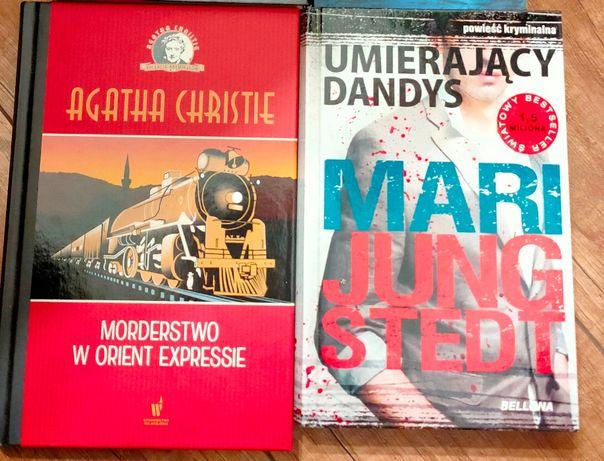A.Christie Morderstwo w Orient Expressie, ,Jungstedt - zestaw 2 szt