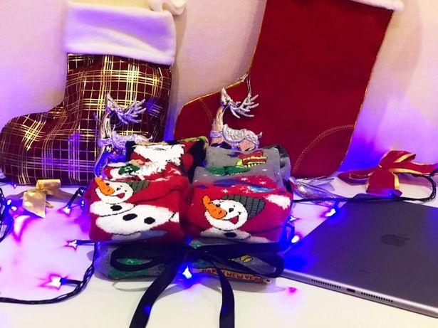 Новогодние носки наборы. 6 пар. ТОП ПРОДАЖ