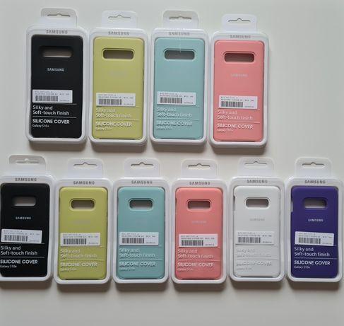 Etui Samsung Silicone cover Galaxy S8 S8+ S9 S9 + Note 8 9 S10 S10e