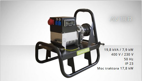 FOGO AGROVOLT AV18R 400/230volt Agregat prądotwórczy ROLNICZY F.VAT