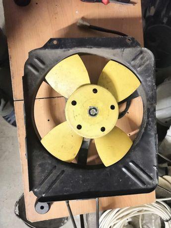 вентилятор охлаждения радиатора на ВАЗ-2103-2106 (Lada)