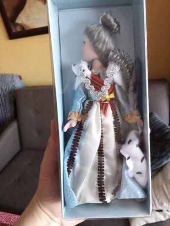 lalka kolekcjonerska porcelana Pudełko Rosja