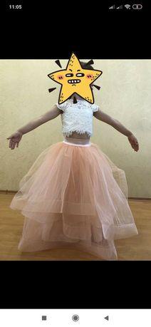 Костюм нарядний, плаття, сукня, випускне плаття