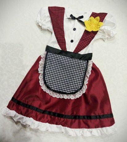Карнавальный костюм платье George на девочку 3-4 года