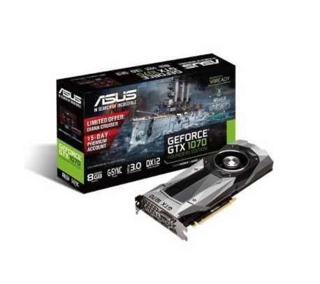 Nvidia GTX 1070 Founders Edition