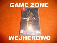 Dark Souls Remastered Nintendo Switch + Lite = Wejherowo