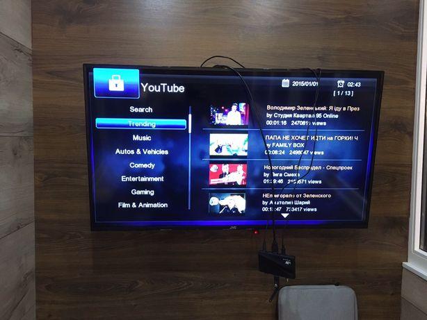 Смарт ТВ приставка, youtube IPTV WiFi smart TV