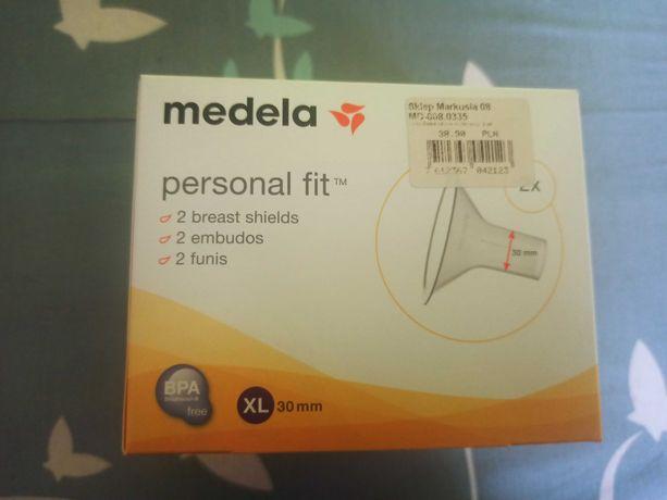 Nowy lejek medela personal fit XL 30 mm