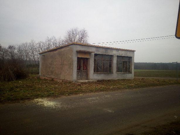 Działka 6ar. z budynkiem, Korzecznik gm. Kłodawa, blisko las, jezioro