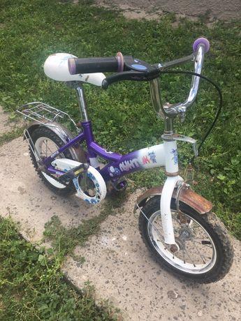 Продам велосипед детский транспорт «Лунтик»