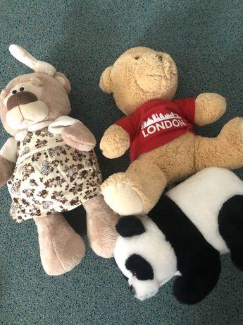 Мягкие игрушки мишка медведь