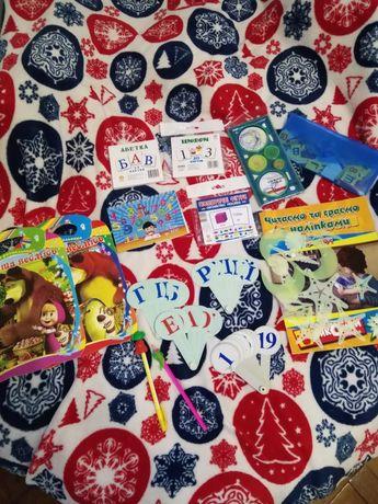 Набір для дошкільнят Букви, цифри, геометричні фігури