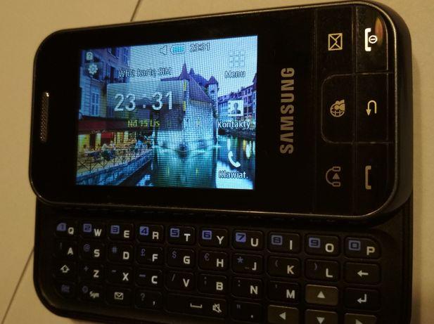 Samsung Chat 350 z wysuwaną klawiaturą QWERTY 100% sprawny