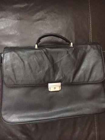 Фирменная Кожаная сумка ( портфель)