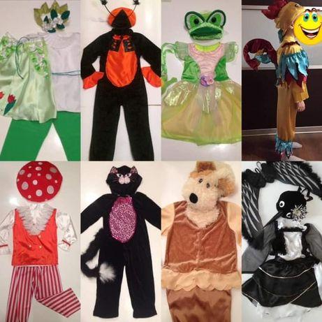 Костюми карнавальні для дитячих ранків, прокат карнавальные костюмы
