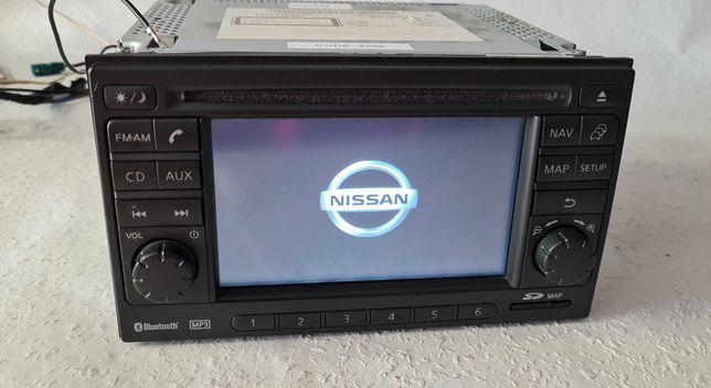 Nissan Qashqai Juke Micra Radio Nawi Mp3 BT Aux z kodem