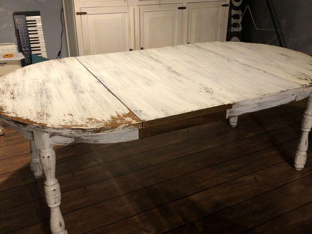 Stół do odświeżenia bielony
