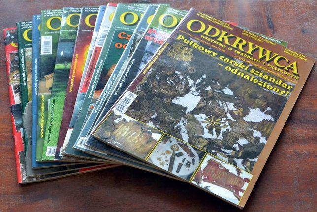 Magazyn ODKRYWCA - rocznik 2005 - kompletny