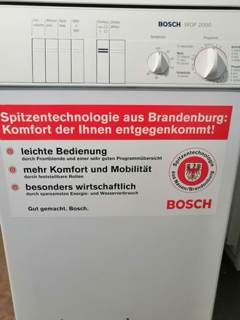 Пралка Bosch WOF 2000