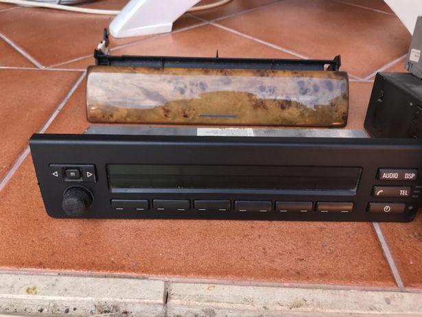Radio bmw x5 original mais cassete e caixa de cd