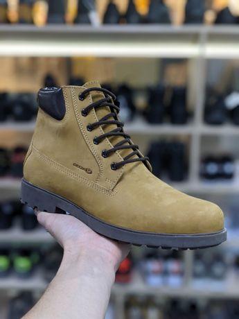 Ботинки зимние кожаные Geox 40,41 размера Оригинал