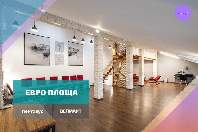 Пентхаус новобудова, дизайнерський ремонт, індивідуальне опалення