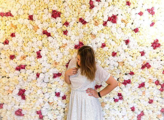 Ścianka kwiatowa na wesele, przyjęcie