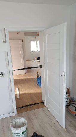 Montaż drzwi wewnętrznych, paneli podłogowych, deski podłogowej