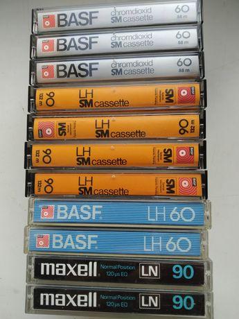 Аудио кассеты basf maxell agfa