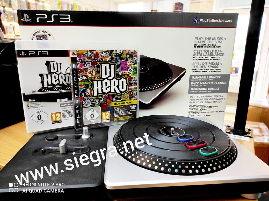 Konsola DJ Hero 2 plus dwie gry DJ Hero PS3 Suwałki - image 1