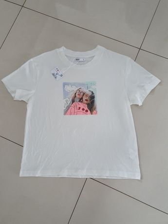Koszulka croop rozm M nowa