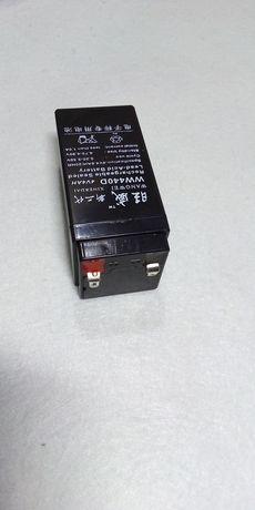 Аккумулятор кислотный 4в для весов 4v на весы 6в до ваги 6v гелевый