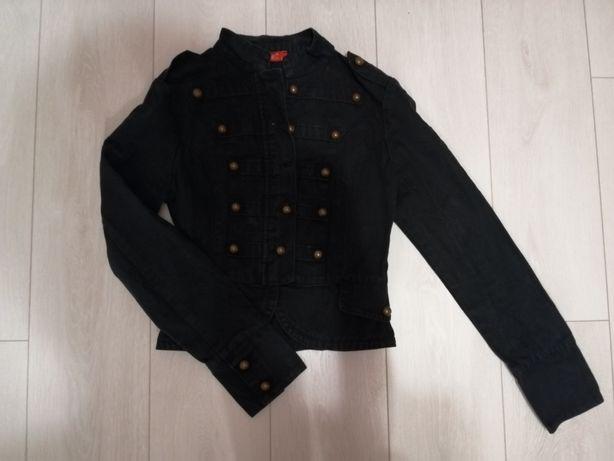Stylowa kurtka,dżins, rozmiar S