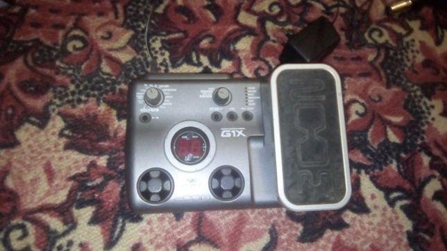 Гітарний процессор ZOOM G1X