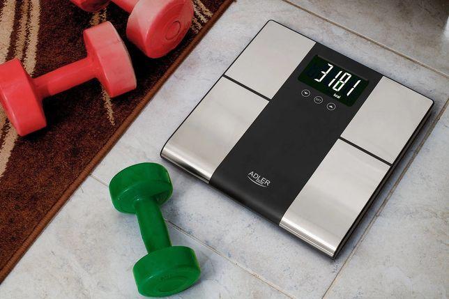 Весы напольние с анализатором Adler AD 8165 до 225 кг