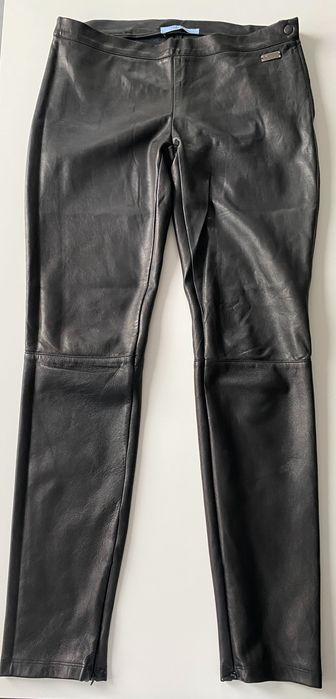 Spodnie skórzane Bluemarine rozm 38 Gliwice - image 1