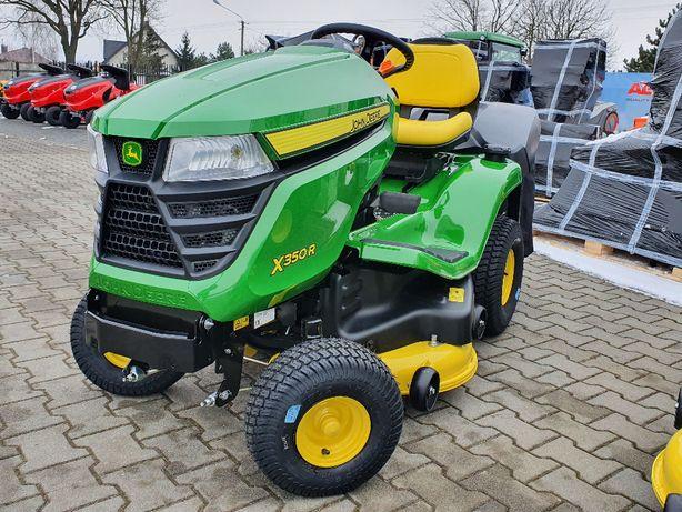 """""""Marcinkowscy"""" Traktorek John deere X350R Nowy Model 2021 Duża Moc"""