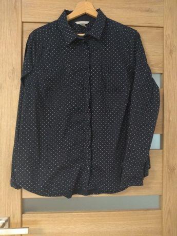 Granatowa koszula H&M r.44
