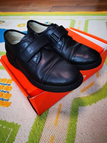 Туфли кожаные демисезонные