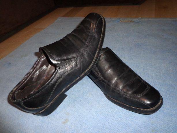 Германские туфли bugatti, 40й р.р, стелька 26,5см, кожаные снаружи и в