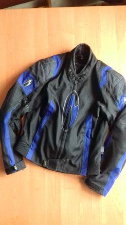 Текстильная мотокуртка размера S.