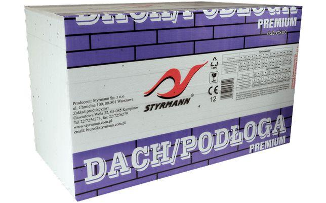 Styropian Dach podłoga premium 038/80