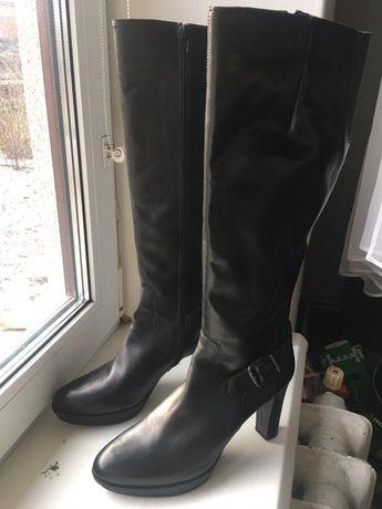 Чоботи черевики жіночі шкіряні 40р нові