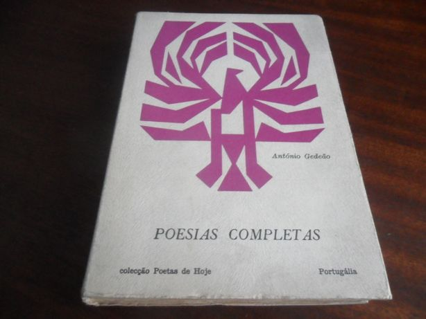 """Poesias Completas"" 1956 a 1967 de António Gedeão"