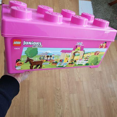 LEGO junior (оригінал ) ЛЕГО велика коробка ферма