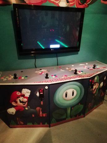 Máquina jogos arcade excelente