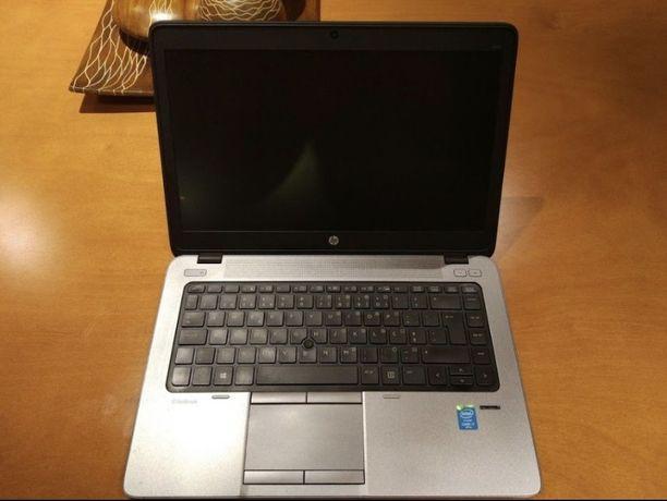 HP 840 i7 128ssd 8gb Preto c/Impressao Digital c/carregador