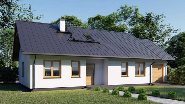 Projekt Dom RAMZA A90 - cena budowy 286 000zł