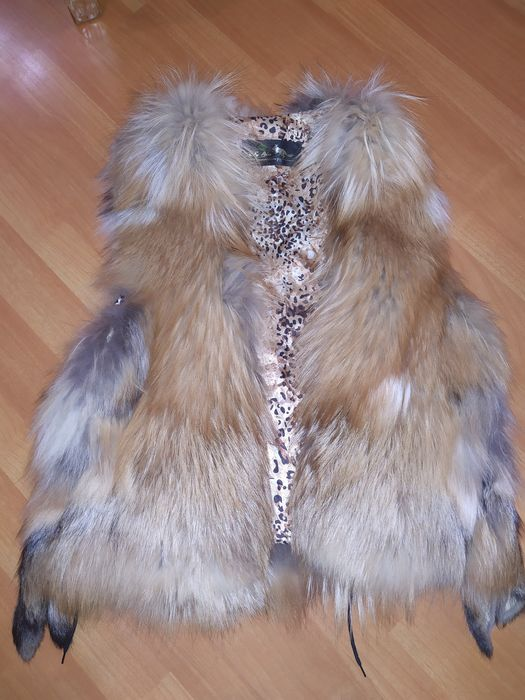 Меховая жилетка(лиса) Донецк - изображение 1