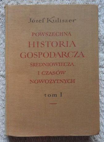 Powszechna historia gospodarcza średniowiecza i ... J.Kuliszer